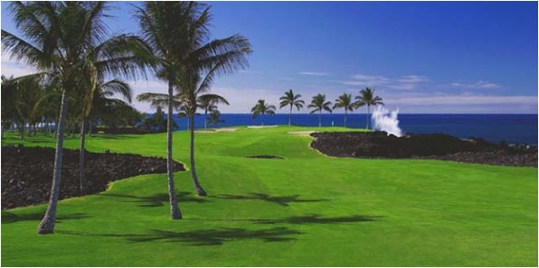 Hawaii Golf Courses - Waikoloa Beach Course
