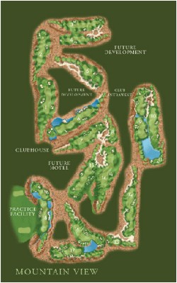 Desert Willow Mountain View Layout