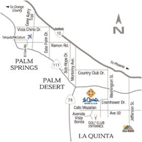 La Quinta Mountain Course Map